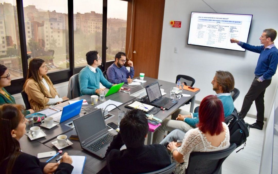 SOCIEUX+  in Colombia: Capacity building in labour market intermediation