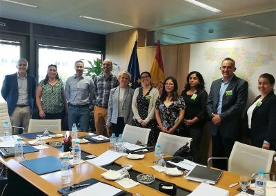 Peer cooperation: A Mexican delegation visits the Spanish Social Security Institute