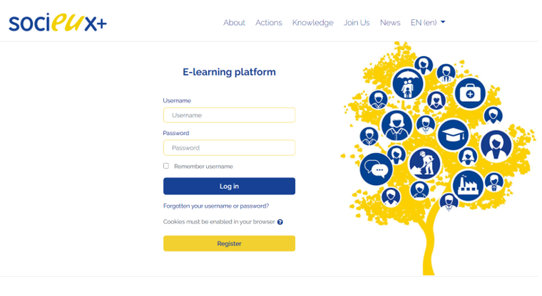 SOCIEUX+ launches e-learning platform for online training and peer-to-peer exchange