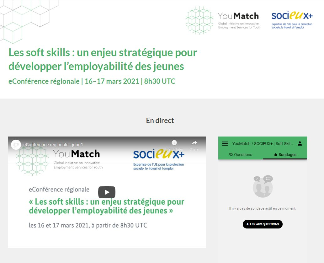 Conference #SOCIEUX+ #YouMatch