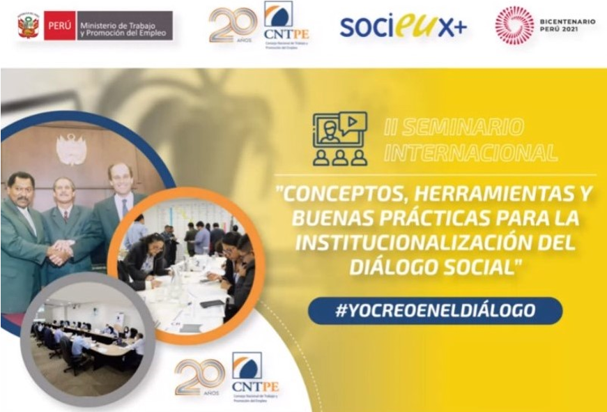 Seminar on tools and good practices for social dialogue in Peru